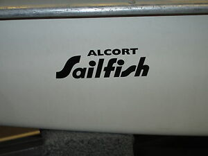 Alcort SUNFISH bow logo//decal//sticker for pre-1975 models