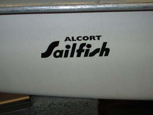 Alcort SAILFISH bow sticker//logo//decal..........like Sunfish