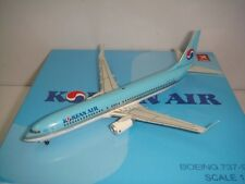"Hogan Wings 400 Korean Air B737-900WL ""1990s color"" 1:400"