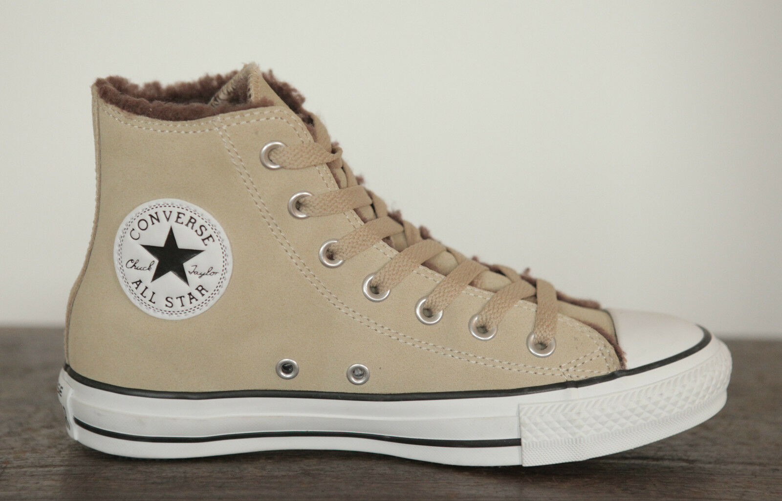 Nouveau All Star Converse Chuck Hi Cuir Leather Boots Boots Boots Doublure Sneaker 139819 C   2019  78815b