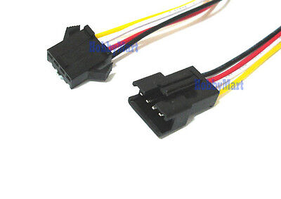 2.5mm SM 4-Pin Male Female Connector plug with Wire x 10 Sets