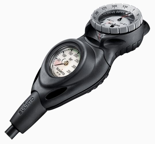 Suunto cb-one Pressure Gauge with SK-8 Compass Combo - NEW From Dealer