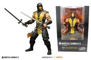 Action-Figure-Mortal-Kombat-X-Scorpion-30-cm-12-039-039-by-Mezco-Toys