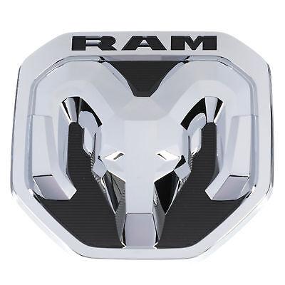 2019 DODGE RAM Chrome Tailgate RAM/'s Head Emblem Medallion NEW OEM MOPAR