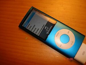 Apple-Ipod-Nano-4G-4st-4-Generation-Model-A1285-EMC-No-2287-8GB-Defekt
