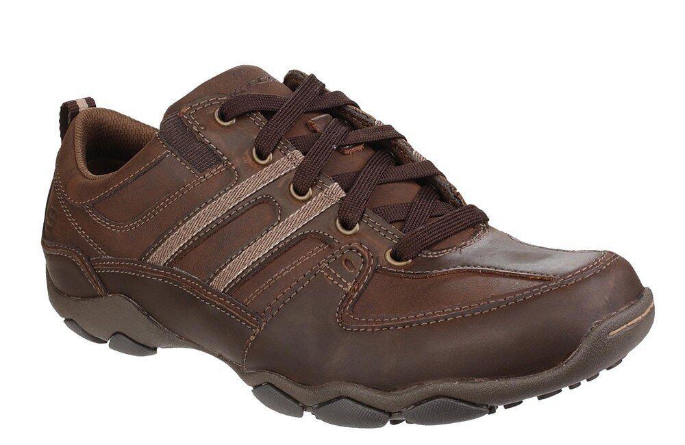 Skechers  Men's  DIAMETER  SELENT  Casual shoes  (Dark Brown)