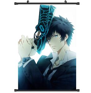 Anime Psycho Pass Kogami Shinya Scroll Wall Poster Cosplay 2640 Ebay