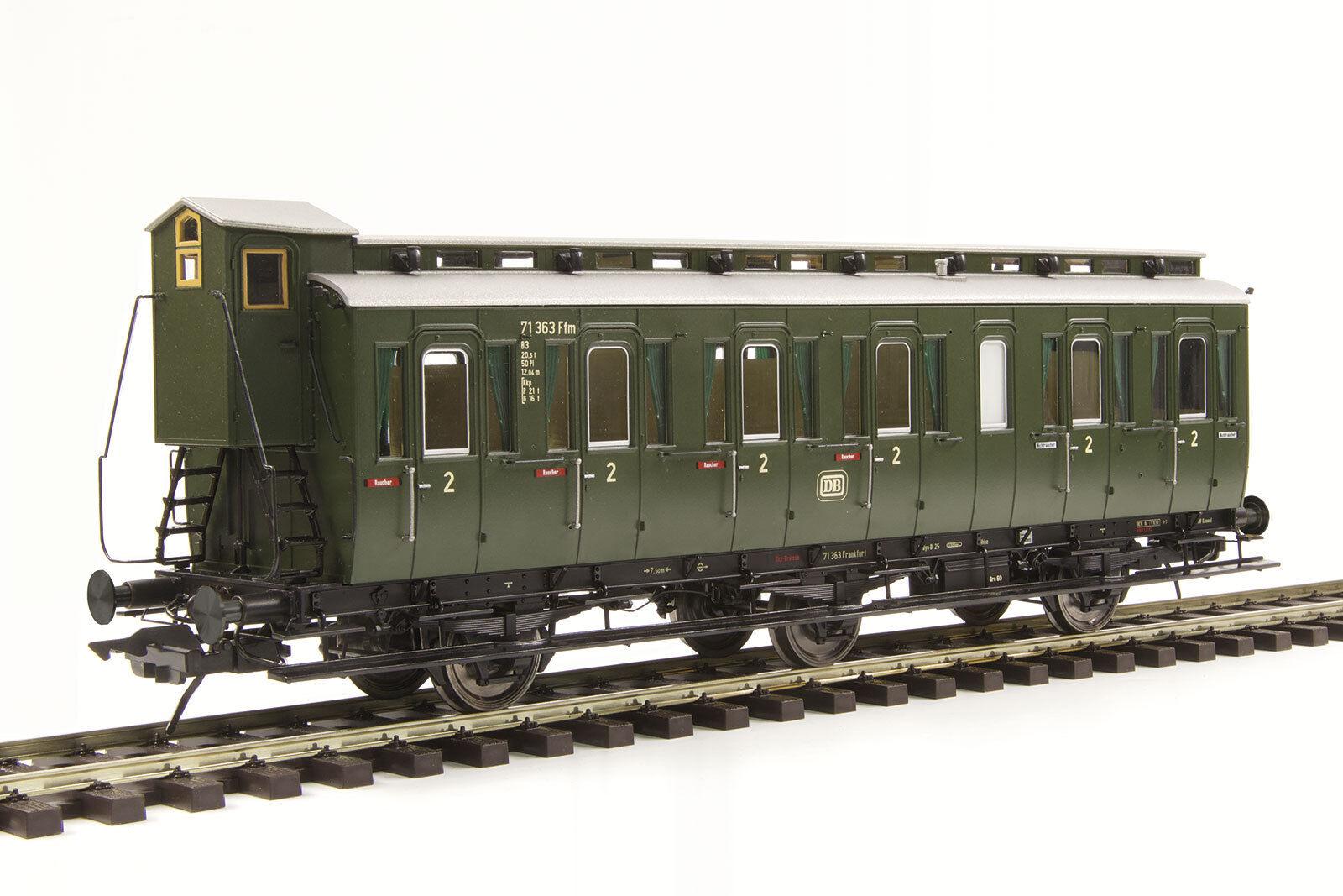 Lenz traccia 0 41162-01 prussiano compartimento auto 2. classe Merce Nuova