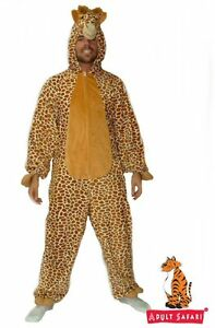 Adult-Giraffe-Costume-Animal-One-Piece-Fancy-Dress-up-Costume-Party-African