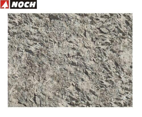 """1 m² - 91,42 € NOCH 60301 Knitterfelsen /""""Großglockner/"""" 45 x 25,5 cm NEU"""