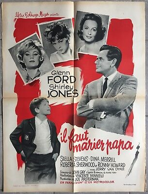 The courtship of Eddie/'s father Glenn Ford poster print