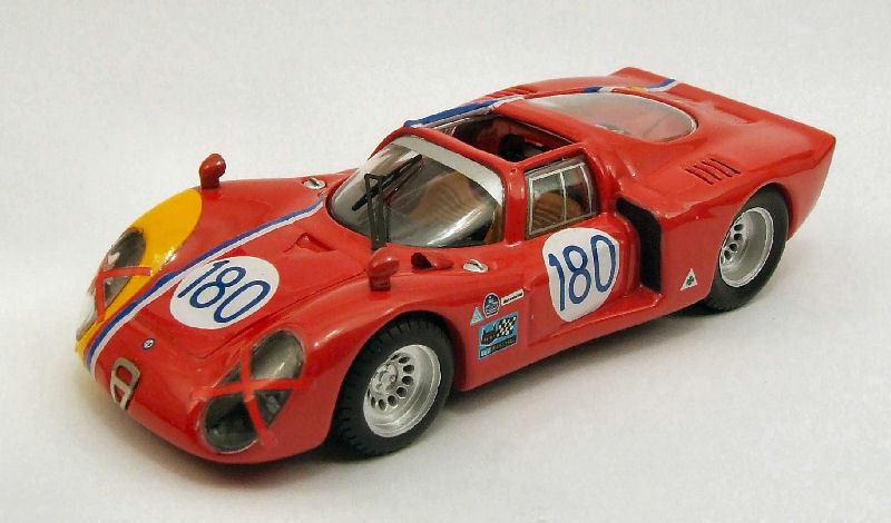 ALFA ROMEO 33.2  180 Retirosso Targa Florio 1968 Gosselin Trosch 1 43 Model