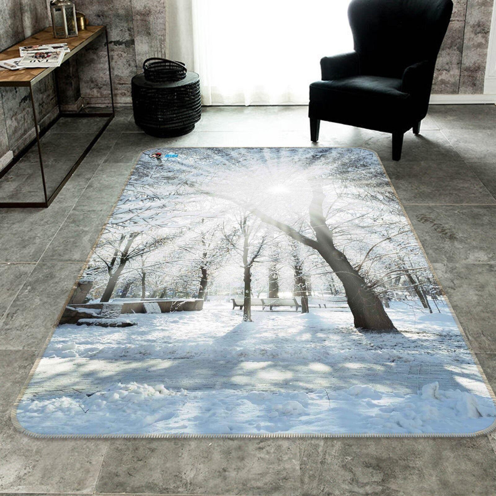 3D Sunlight Snow 105 Non Slip Rug Mat Mat Mat Room Mat Quality Elegant Carpet UK Cobb 3d6bec