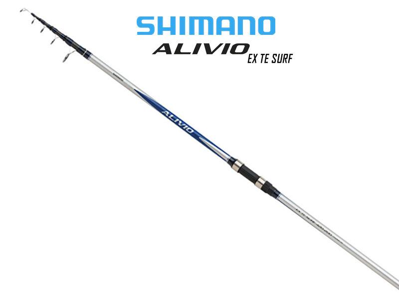 Shimano Alivio extra te Surf Telescópico Spinning Caña De PesCoche 4.2 M c.w elección