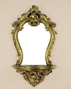 wandspiegel mit ablage deko spiegel barock spiegel konsole. Black Bedroom Furniture Sets. Home Design Ideas