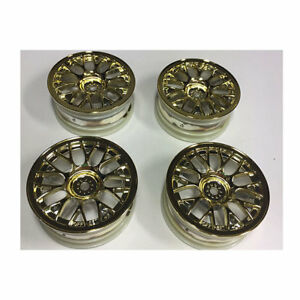 TAMIYA-54736-Plated-Medium-Narrow-Mesh-Wheels-4-Pcs-Gold-Offset-2-TA06-TA07