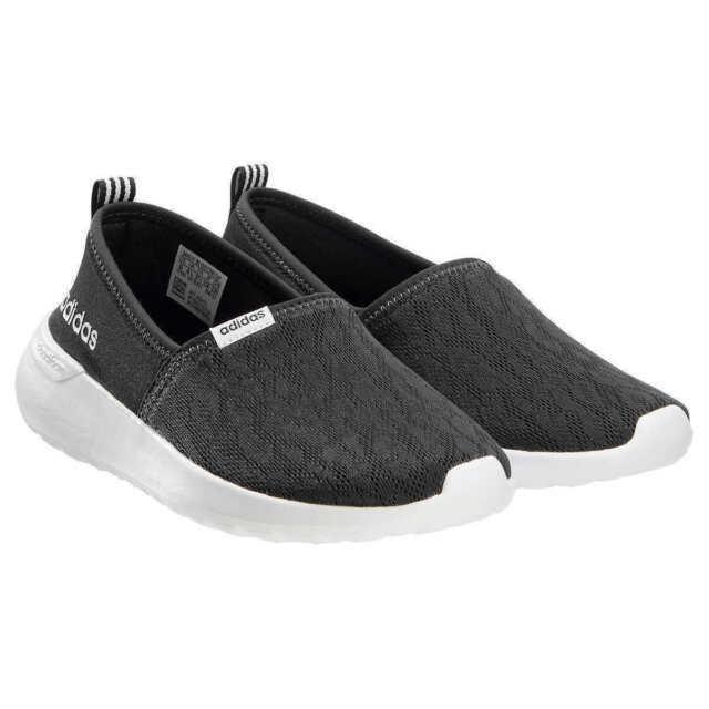 adidas 953587 Women's Cloudfoam Lite Racer Slip on Shoes - US 6, Black