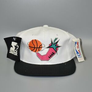 1996-NBA-All-Star-Game-Starter-Vintage-Men-039-s-Adjustable-Snapback-Cap-Hat-NWT