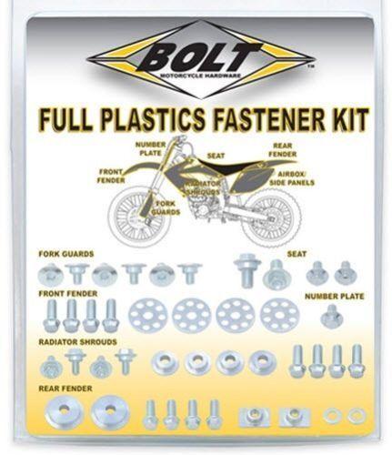 Bolt MC Hardware Full Plastics Fastener Kit for 2002-2018 KTM 50sx 50 SX SXS