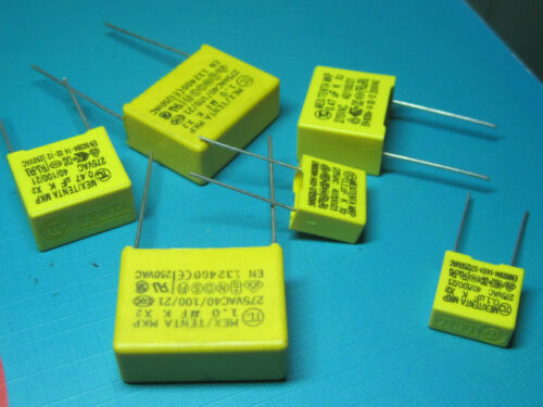 X2 Polypropylene safety capacitors 474 0.47uF 275VAC  k  10PCS