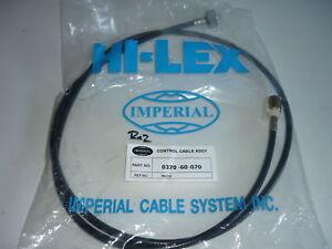 MAZDA RX2 CAPELLA EARLY SCREW ON SPEEDO SPEEDOMETER CABLE 0305-60-070