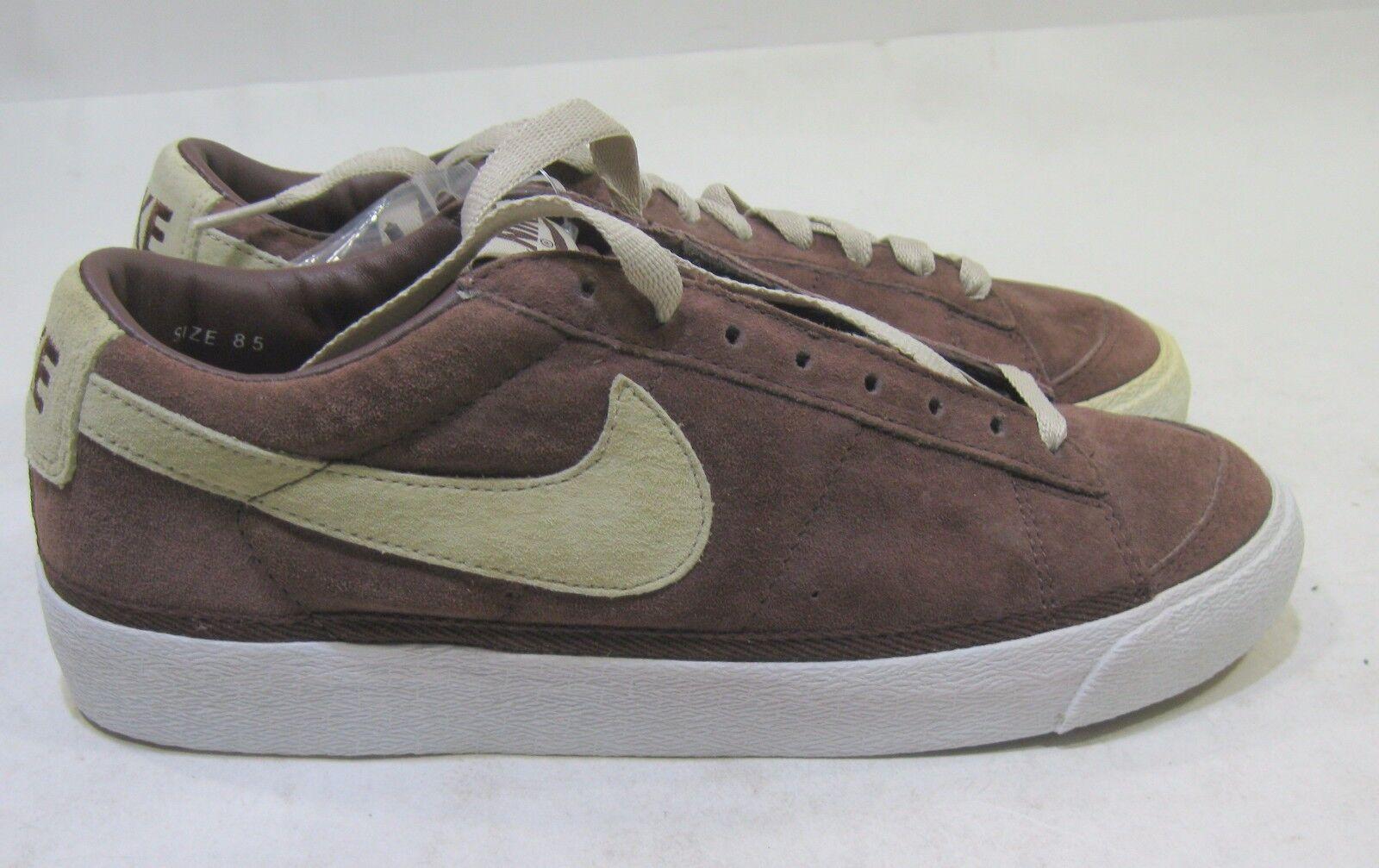 Nike Blazer Suede (Team Brown/Net/White) - Shoes - 305415-211 Size 8.5