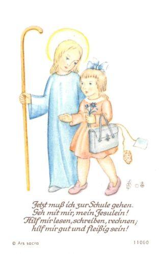 "Fleißbildchen Heiligenbild Gebetbild Andachtsbild  Holy card Ars sacra/"" H456/"""
