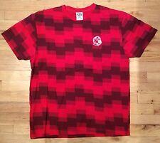 NEW BBC Billionaire Boys Club Red Black S/S Short Sleeve T-Shirt size Large L