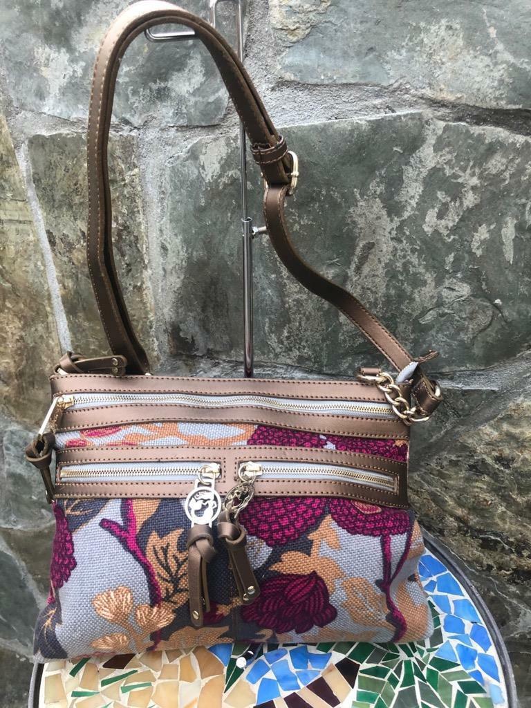 Spartina boheme double zip hipster bag purse (pu150