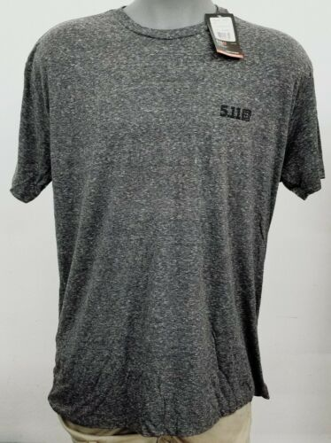 Details about  /5.11 Tactical Triblend Legacy Charcoal Grey Heather Men/'s S//S Crew Shirt XL NWT