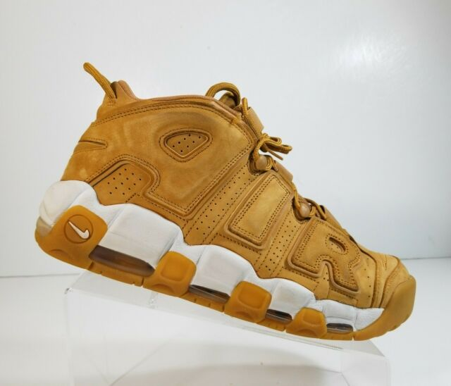 nike air more uptempo wheat flax