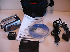 Panasonic SDR-H40 40GB HDD Camcorder Software Manual Battery Charger Bundle
