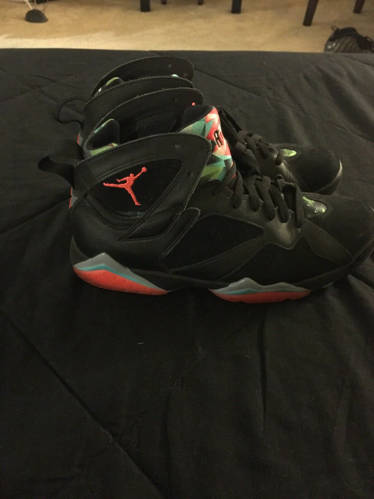 Nike Jordan Retro 7 30th Anniversary Marvin the Martian Barcelona Nights Cheap women's shoes women's shoes