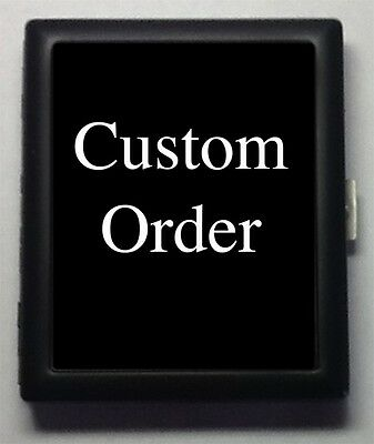Custom-Made  Metal Wallet ID  Business Card  Cigarette Case  #16