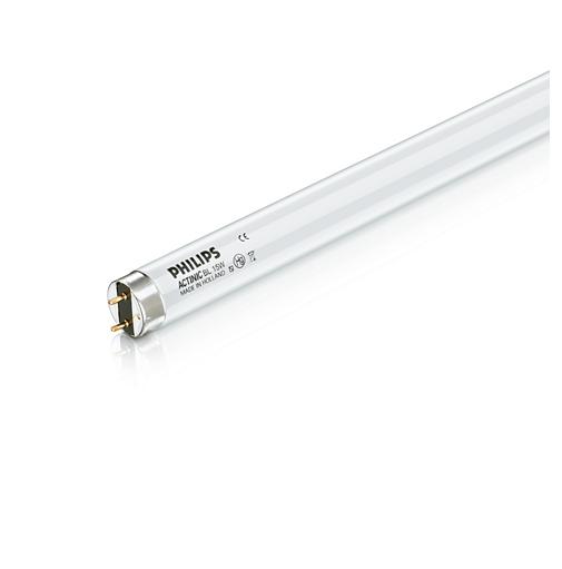 Lamp Hose Neon Philips Actinic 15w 1510n Vapor Mercury CM 45 Diam 28 MM