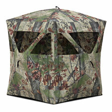 Barronett Blinds Radar Backwoods Camo Lightweight Pop Up Hunting Ground Blind
