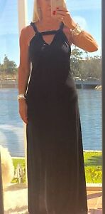 WITCHERY-Formal-Dress-Maxi-Black-Full-Length-BNWOT-REDUCED
