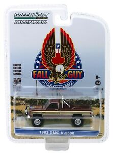 1-64-GreenLight-HOLLYWOOD-26-Fall-Guy-Stunt-Man-1982-GMC-K-2500-IN-STOCK-NIP