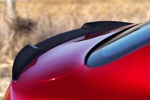 Contemplatif Alfa Romeo Giulia Fibre De Carbone Coffre Arrière Boot Aero Wing Spoiler Quadrifoglio Qv-afficher Le Titre D'origine Et Aide à La Digestion