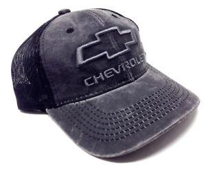 Black GEN11A Outdoor Cap Chevrolet Mesh Back Cap
