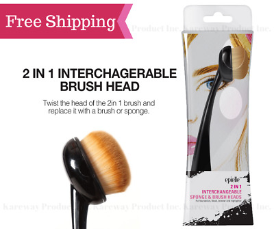 epielle® 2 in 1 Interchangeable Sponge & Makeup Brush ...