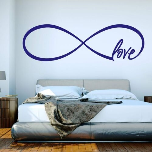 Endless Love Bedroom  Living Room Dining Wall Art Vinyl Decal GIFT Sticker V84