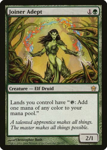 Joiner Adept Fifth Dawn NM-M Green Rare MAGIC THE GATHERING MTG CARD ABUGames