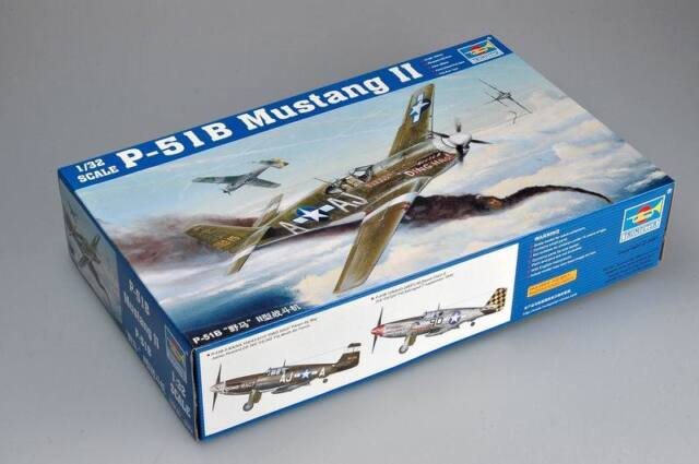 TRUMPETER P-51B MUSTANG II 02274 *PARTS* SPRUE A CLEAR-FUSELAGE+MORE 1//32