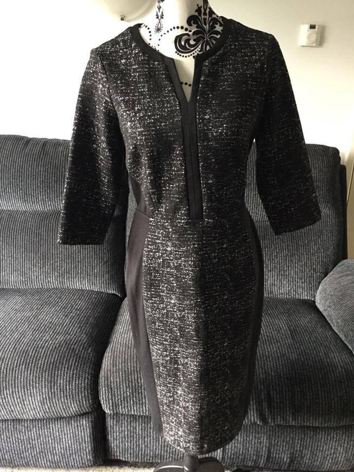 à Condition De Debenhams The Collection Ponte Pauvre Robe-taille 12 Brillant En Couleur