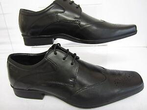 Fitting para cuero de Affix tamaños Unido 5 negro Moscow hombre G Reino 8 r22f zapatos Clarks E4q6nU