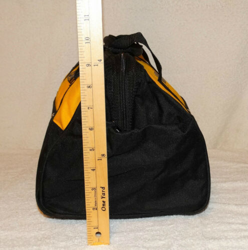 Dewalt tool Bag with bottom runners12 x 9 x 9 With 6 pockets New 2