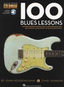 Audacieux 100 Blues Leçons Guitare Tab Music Book With Audio Apprendre à Jouer Méthode-afficher Le Titre D'origine Haute Qualité Et Bas Frais GéNéRaux