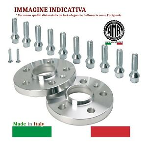 RE12B109 WMR SPACERS DISTANZIALI DA 12 MM 4//100//60,1 M12X1,50 CONICO 60° RE...