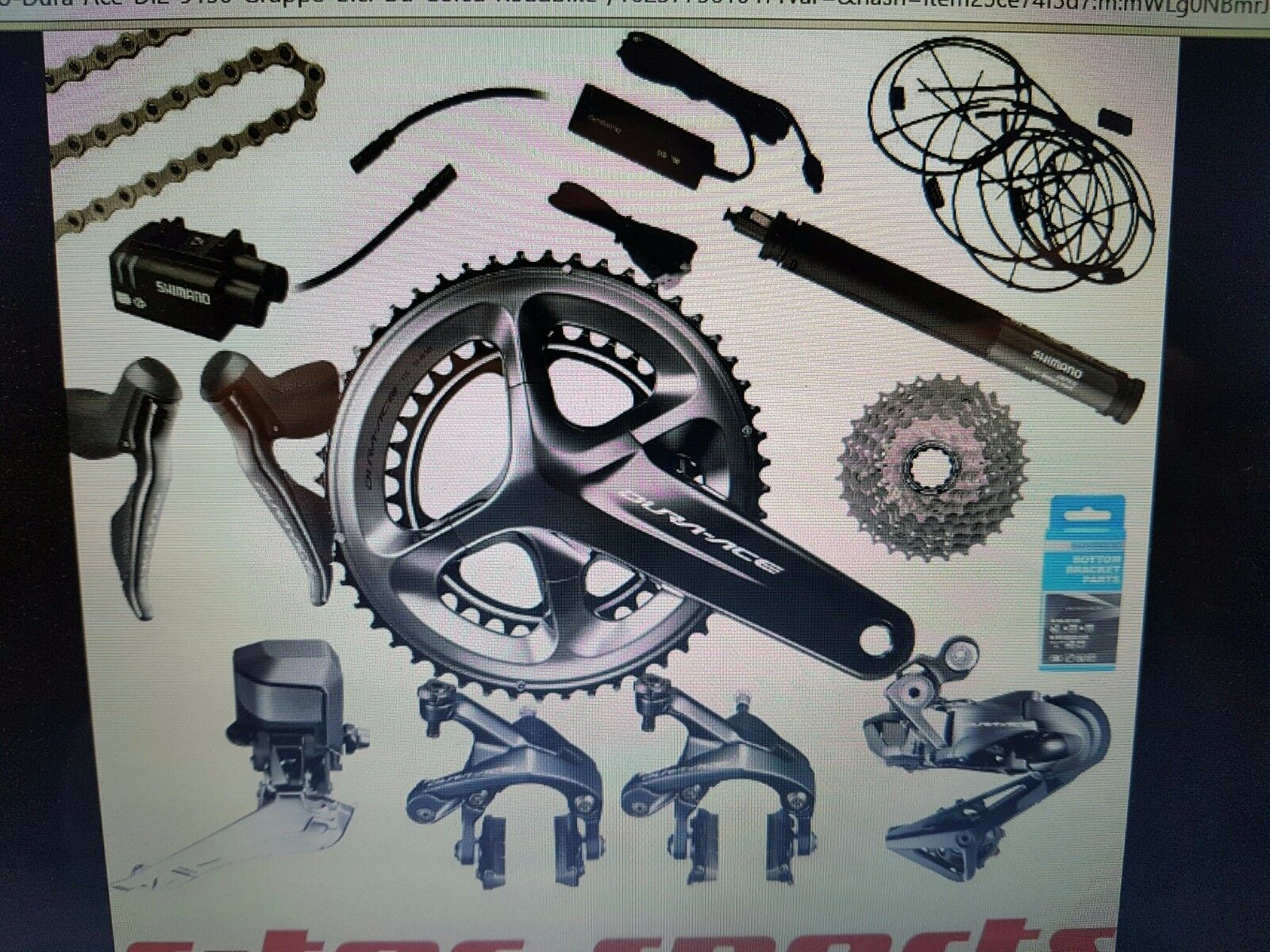 Shimano Gruppo Dura Ace  Di2 9150 11s 50 34 172,5 11 28 anche con direct mount  new exclusive high-end